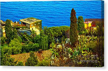 Beautiful Sicily Canvas Print by Madeline Ellis