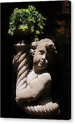 Beautiful Statue Canvas Print by Joy Bradley