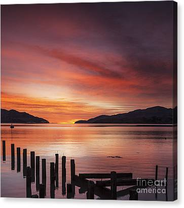 Beautiful Sunrise Canvas Print by Colin and Linda McKie