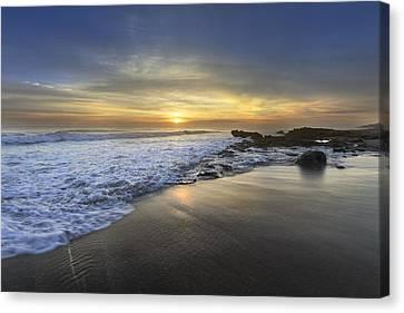 Beautiful Sunrise Canvas Print by Debra and Dave Vanderlaan