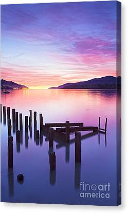 Beautiful Sunset Canvas Print by Colin and Linda McKie