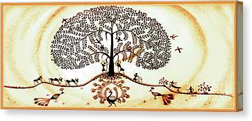 Beautiful Tree Of Life Canvas Print by Anjali Vaidya