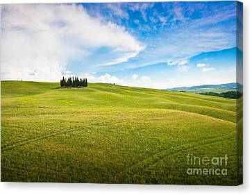 Beautiful Tuscany Canvas Print by JR Photography