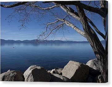 Beautiful View Of Lake Tahoe Canvas Print
