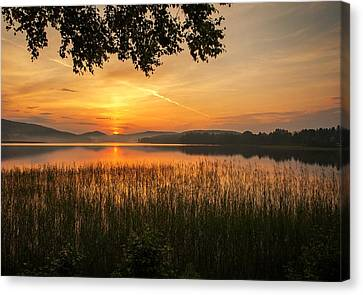 Beautiful View  Canvas Print by Rose-Maries Pictures