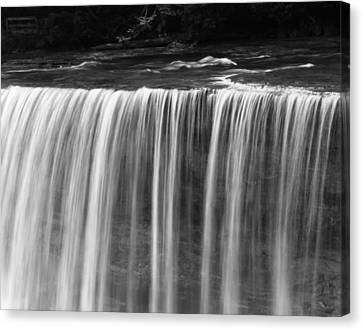 Beautiful Waterfall Flow Canvas Print by Dan Sproul