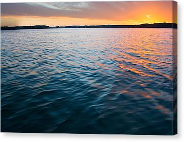 Beautiful Waters Canvas Print by Parker Cunningham