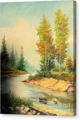 Beautiful Wild  Canvas Print by Sorin Apostolescu