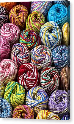 Beautiful Yarn Canvas Print by Garry Gay