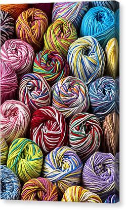 Beautiful Yarn Canvas Print