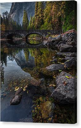 Beautiful Yosemite National Park Canvas Print by Larry Marshall