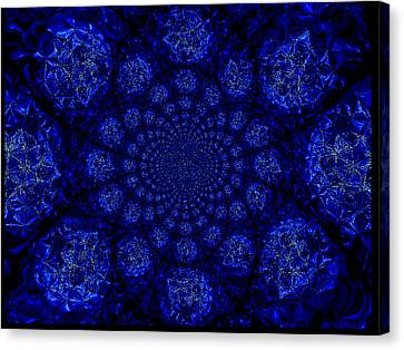 Beautifully Blue Canvas Print