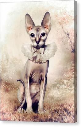 Beauty Canvas Print by Cindy Grundsten