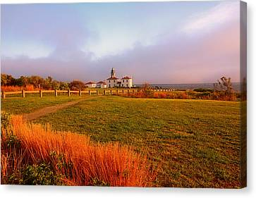 Beauty Emanates- Beavertail Paark Rhode Island Canvas Print