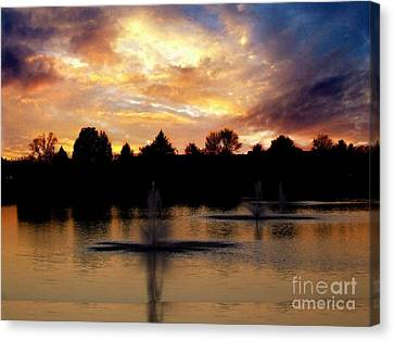 Beauty In Threes Canvas Print by Scott B Bennett