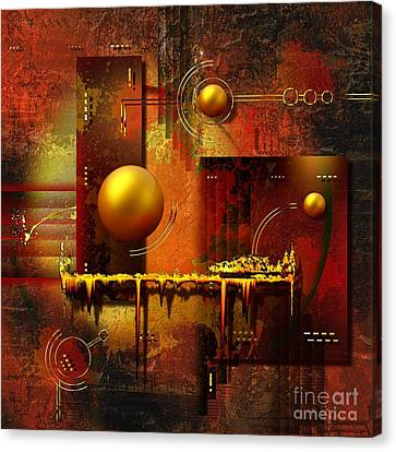 Beauty Of An Illusion Canvas Print by Franziskus Pfleghart