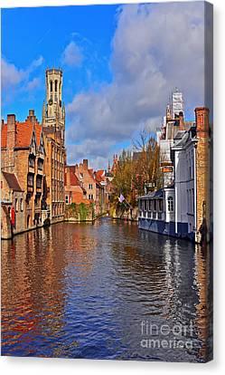 Beauty Of Belgium Canvas Print