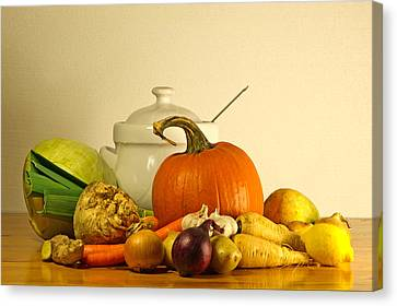 Autumn Soup Canvas Print - Beauty Of Fall by Torbjorn Swenelius