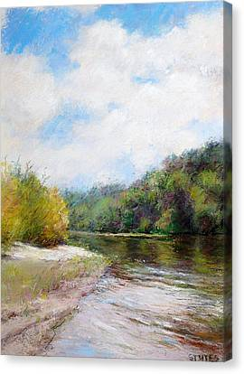 Beauty Of Nature  Canvas Print by Nancy Stutes
