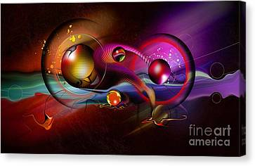 The Universe Canvas Print - Beauty Of The Matter by Franziskus Pfleghart