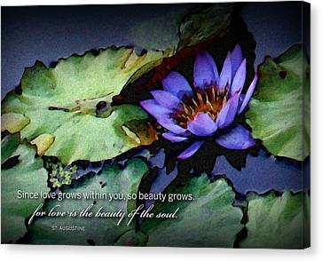Beauty Of The Soul Canvas Print