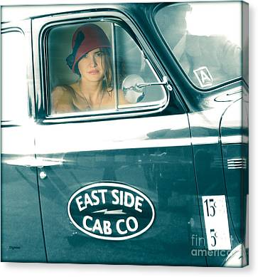 Beauty On The East Side  Canvas Print by Steven Digman