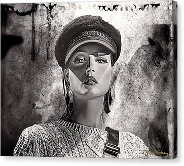 Beauty Police Canvas Print by Chuck Staley