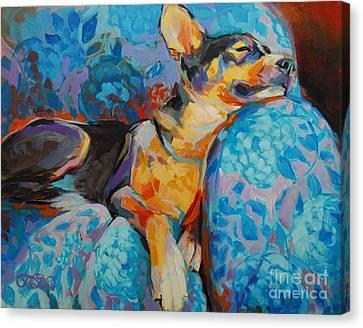 Beauty Rest Canvas Print by Kimberly Santini