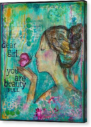 Beautyfull Canvas Print by Kirsten Reed