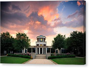 Beaver Canvas Print - Beaver County Courthouse by Emmanuel Panagiotakis