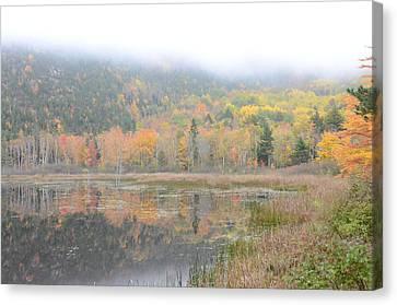 Beaver Lake Maine Canvas Print