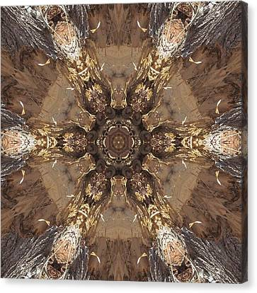 Beaver's Work Two Canvas Print