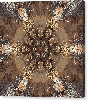 Beaver's Work Two Canvas Print by Trina Stephenson