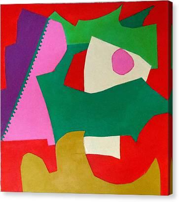 Bebop Canvas Print by Diane Fine