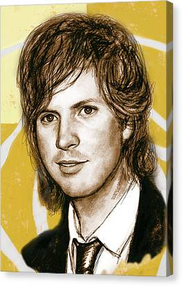 Beck Hansen - Stylised Drawing Art Poster Canvas Print