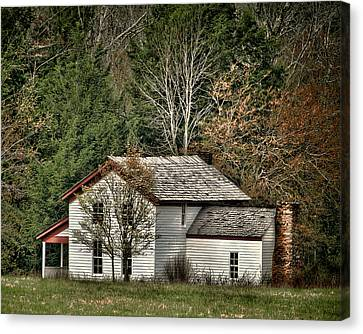 Becky Cable House Canvas Print by TnBackroadsPhotos