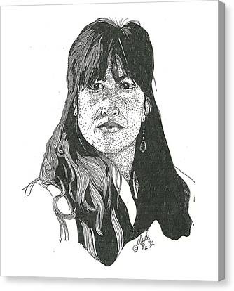Becky Canvas Print