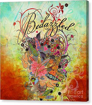 Bedazzled Canvas Print by Amy Stewart
