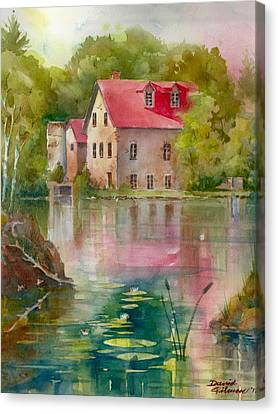 Bedford Mill Canvas Print by David Gilmore