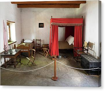Bedroom In A Museum, Stellenbosch Canvas Print
