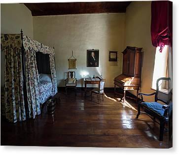 Bedroom Of Blettermanhuis, Stellenbosch Canvas Print