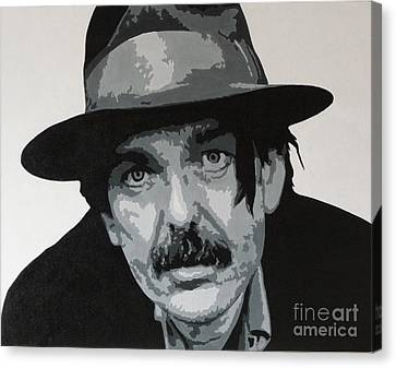 Beefheart Canvas Print by ID Goodall