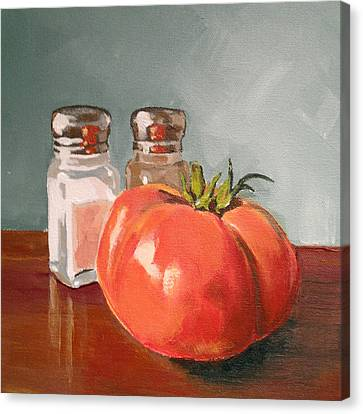 Tomato Canvas Print - Beefmaster by Jeffrey Bess