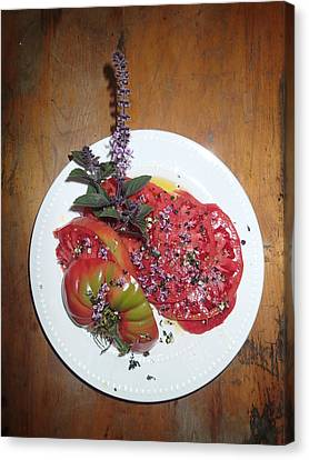 Beefsteak Canvas Print by Robert Nickologianis