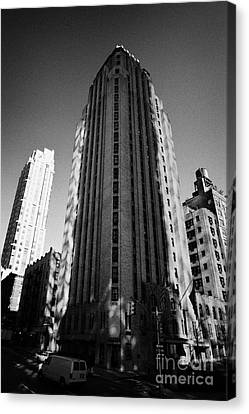 Beekman Tower Hotel 1st Avenue New York City Canvas Print by Joe Fox