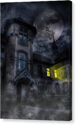Beelitz Horror Nights Canvas Print by Nathan Wright
