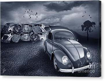 Beetles Shouldn't Die Canvas Print