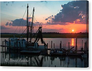 Before Dark Canvas Print by Bonnes Eyes Fine Art Photography