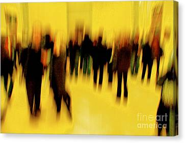 Canvas Print featuring the photograph Before Mona Lisa by Danica Radman
