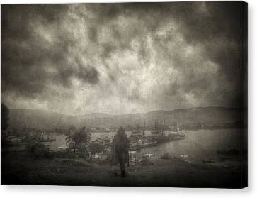 Before Storm Canvas Print by Taylan Apukovska